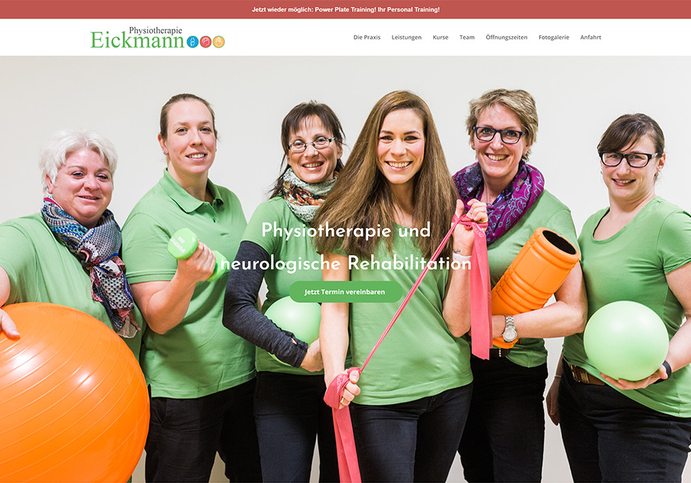 Physiotherapie Eickmann